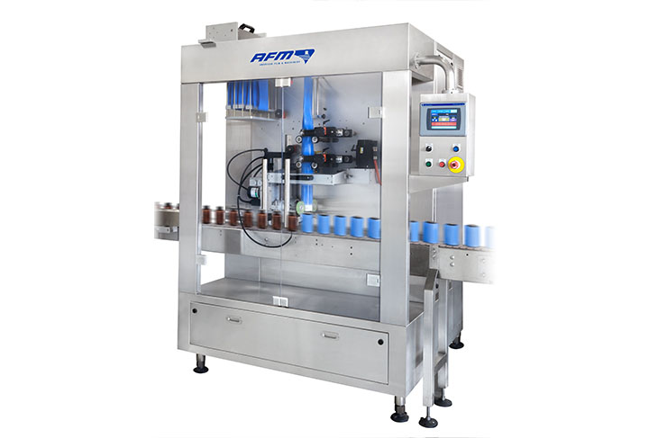 AFM LX-450 shrink sleeve labeling machine