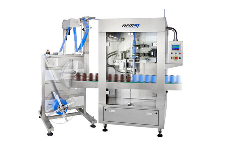 AFM shrink labeling machine