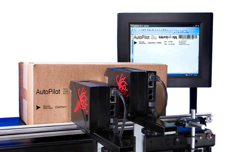 Squid Ink Coding & Marking Solutions hi-res inkjet printer Autopilot