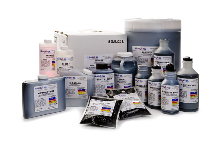 Squid Ink industrial inkjet inks and replacement fluids