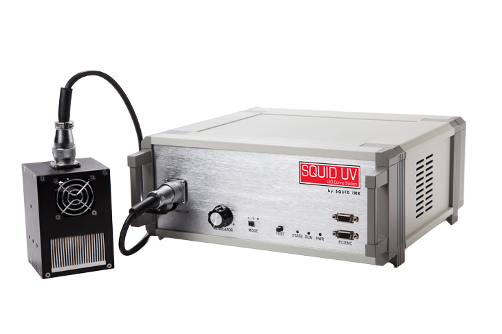 Squid Ink UV LED Curing System unit