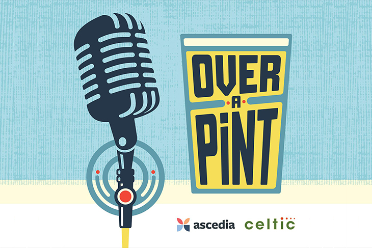 Over A Pint Marketing Podcast Episode 16 David Mylrea CEO Of Engage Technologies